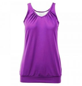 Майка жен. K-Swiss Womens Buy sideline tank top purple