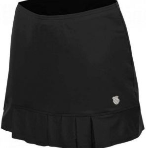 Юбка жен. K-Swiss Womens mesh pleat skirt black