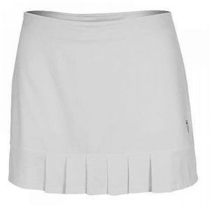 Юбка жен. K-Swiss Womens mesh pleat skirt white