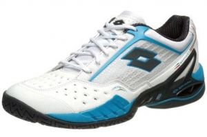 Кроссовки теннисные Lotto RAPTOR ULTRA III CLAY (white-blue)