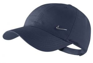 Кепка NIKE Metal Swoosh cap junior dark-blue