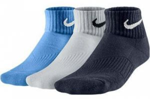 Носки Nike 3pairs young CTN cush white/blue/navy