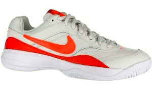 Кроссовки жен. Nike Court Lite light-gray/red