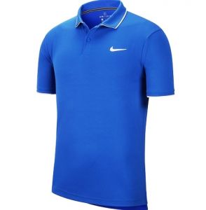 Поло муж. Nike Dry polo team blue