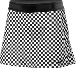 Юбка жен. Nike Dry skirt black/white
