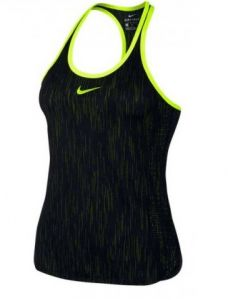 Майка жен. Nike Dry tank premier slam black/yellow