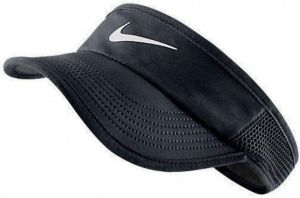 Козырек жен. Nike Featherlight visor black/white