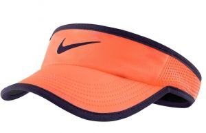 Козырек жен. Nike Featherlight visor orange/violet
