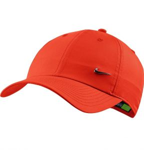 Кепка взр. Nike H86 Metal swoosh cap orange