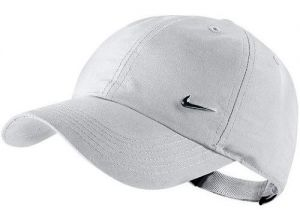 Кепка дет. Nike Metal Swoosh cap junior white