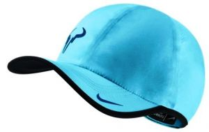 Кепка Nike Rafa Bull featherlight cap green ocean-blue/blue