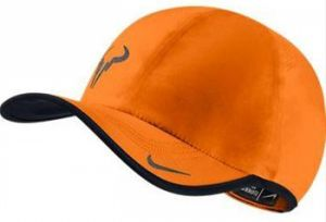 Кепка Nike Rafa Bull featherlight cap green orange