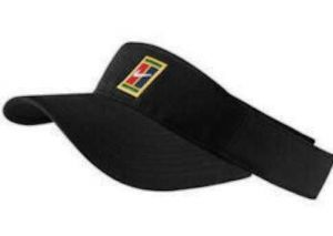 Козырек Nike Visor court logo black