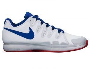 Кроссовки муж. Nike Zoom Vapor 9.5 tour clay white/blue