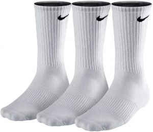Носки Nike cotton cushion crew 3 pairs white