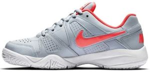 Кроссовки дет. Nike junior City Court 7 GS grey/light-pink