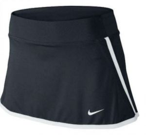 Юбка жен. Nike power Skirt black/white