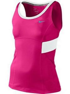 Майка дет. Nike power Tank girls dark-pink/blue