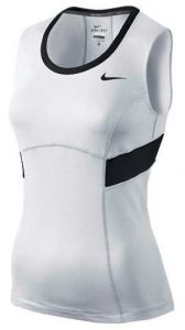 Майка жен. Nike power Tank white/black