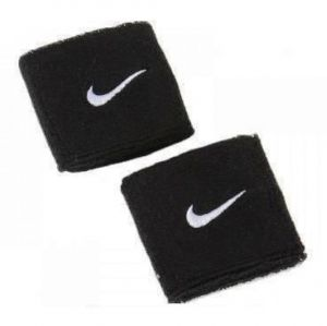 Напульсники Nike swoosh wristbands black/white