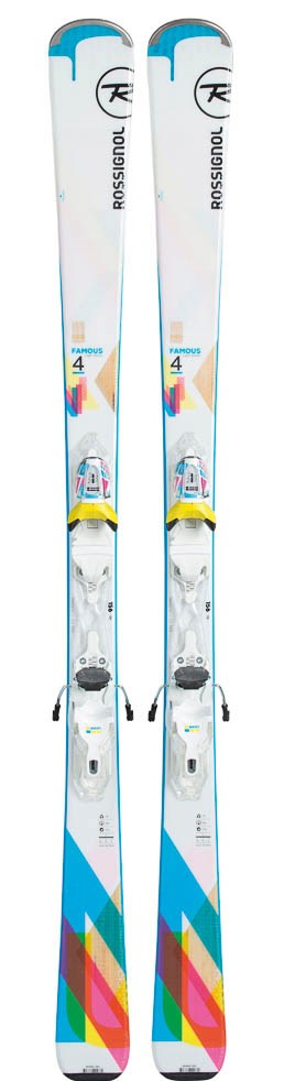 Лыжи Rossignol FAMOUS 4 + XPRESS W 10 B83 WHITE BLUE
