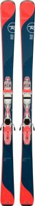 Лыжи Rossignol TEMPTATION 80 + XPRESS W 10 B83 WHT/STRAWBERRY