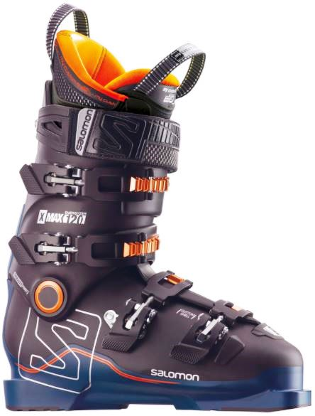 Ботинки Salomon X MAX 120 Black/Petrol Bl/Or