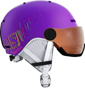 Шлем Salomon Grom Visor Purple Mat/Universa