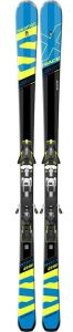 Лыжи Salomon S X-RACE SW + S Z12 Speed BLACK/Blue/Yellow