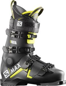 Salomon S/MAX 110 Black/Acid Green/Wh