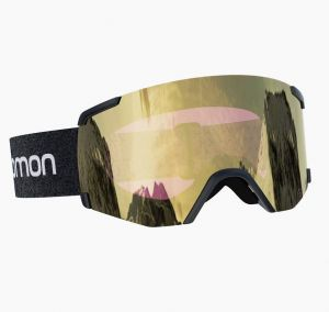 Маска горнолыжная Salomon S/VIEW SIGMA Bk/Sol BlackGold
