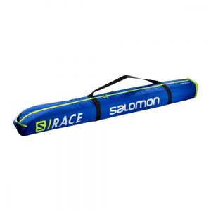 Чехол для лыж Salomon extend 1pair 165+20 skiba race b/neon ye