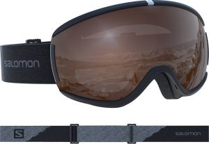 Маска Salomon Ivy Access Black/Univ T.Orange