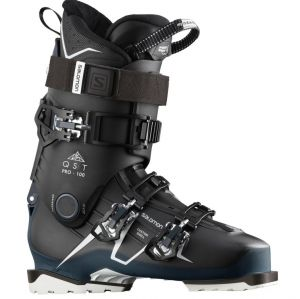 Ботинки Salomon qst pro 100 black/petrol blue/wh