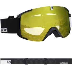 Маска Salomon xview access blk/low light yel