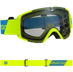 Маска Salomon xview access neonyel/uni silvr