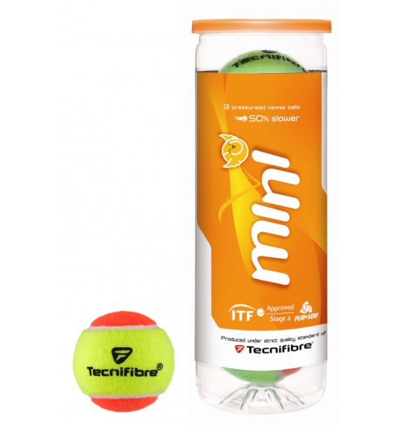 Мячи теннисные Tecnifibre Mini Tennis orange 3 ball