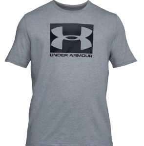 Футболка муж. Under Armour Boxed sportstyle SS light-grey
