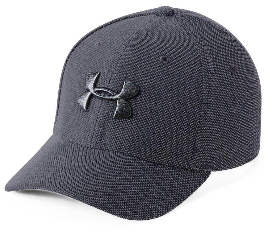 Кепка Under Armour Boy's Heather Blitzing 3.0 черный Дет XS/S