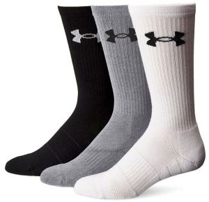 Носки взр. Under Armour changed cotton 2.0 crew 6 pairs multicolor