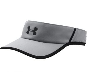 Козырек Under Armour mens shadow visor 4.0 grey/black