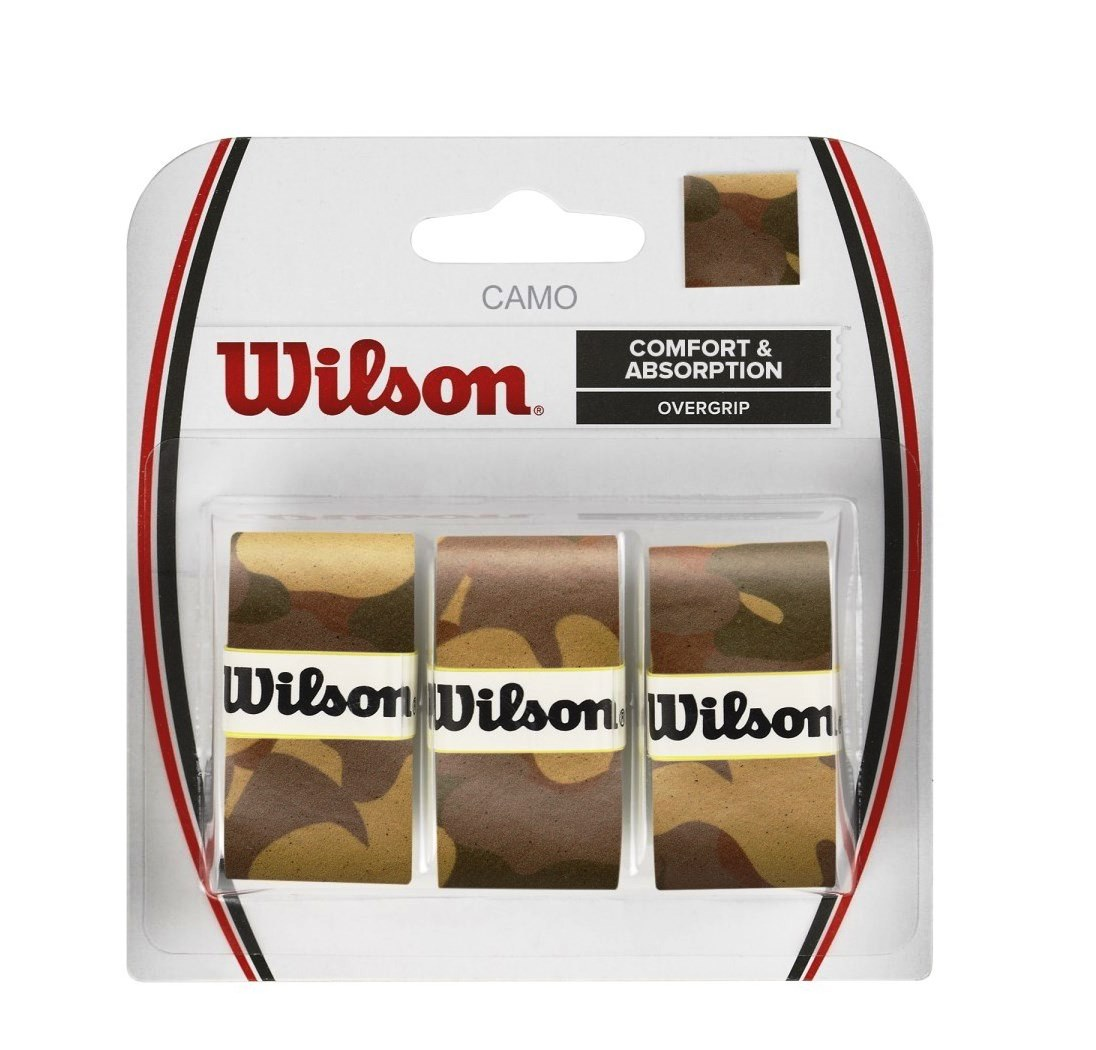 Намотка Wilson Camo overgrip brown 3pack