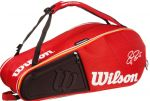 Чехол Wilson Federer court 9 pack red/white