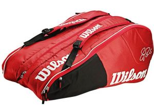 Чехол Wilson Team 12 pack red/white