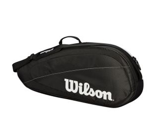 Чехол Wilson Federer team 3pk black/white