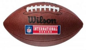 Мяч для американского футбола Wilson NFL INTERNATIONAL SERIES SS14