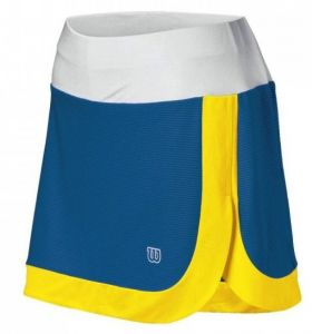 Юбка жен. Wilson Power play Skirt blue/yellow