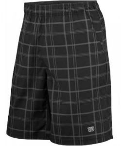 "Шорты дет. Wilson Rush plaid 8"" black/coal"