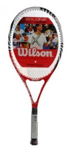 Wilson Six One Comp red-white