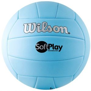 Мяч волейбольный Wilson Soft play volleyball blue
